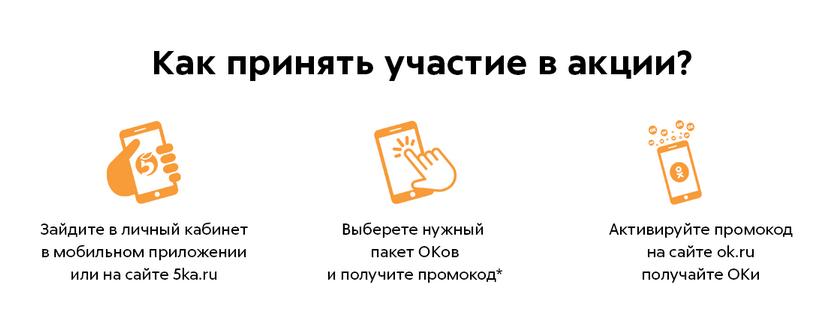 условия акции Ок пятерочка